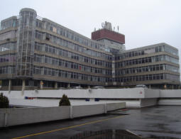 A image of the 1960s sovereign house office block.